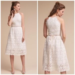 New BHLDN Hitherto White Lace Floral Bridal Dress